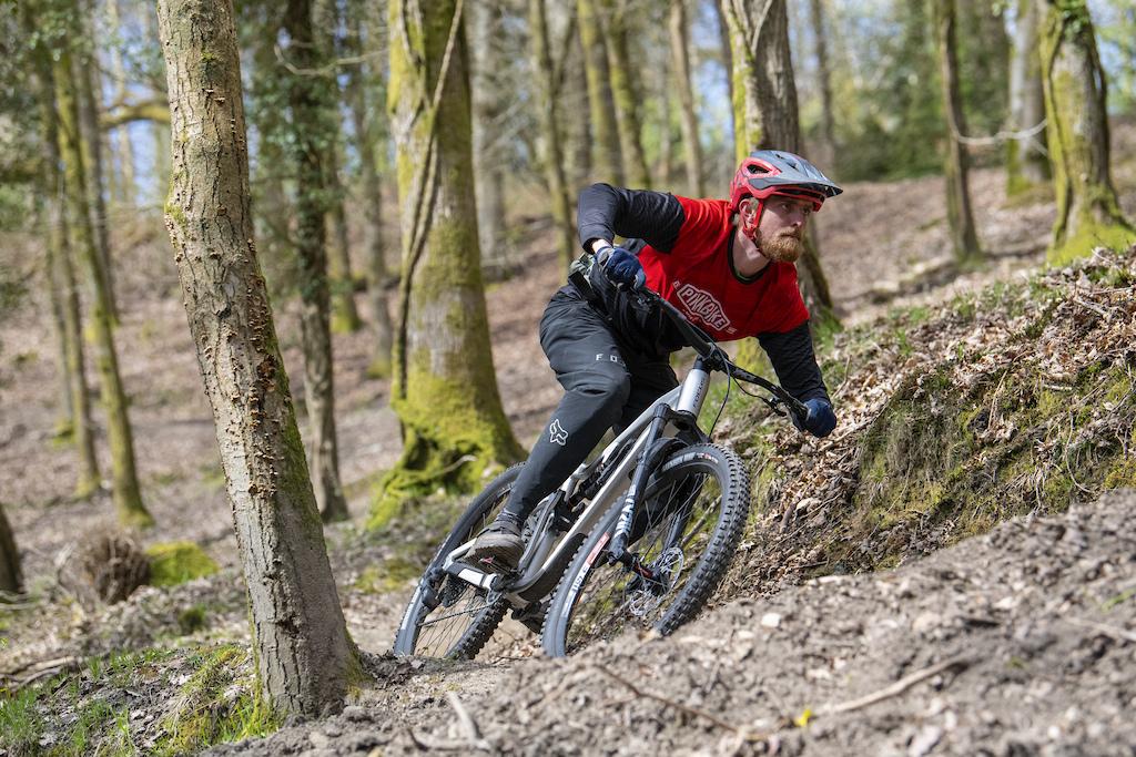 16.04.21. Pinkbike Forest of Dean Rider Seb Stott. PIC Andy Lloyd www.andylloyd.photography