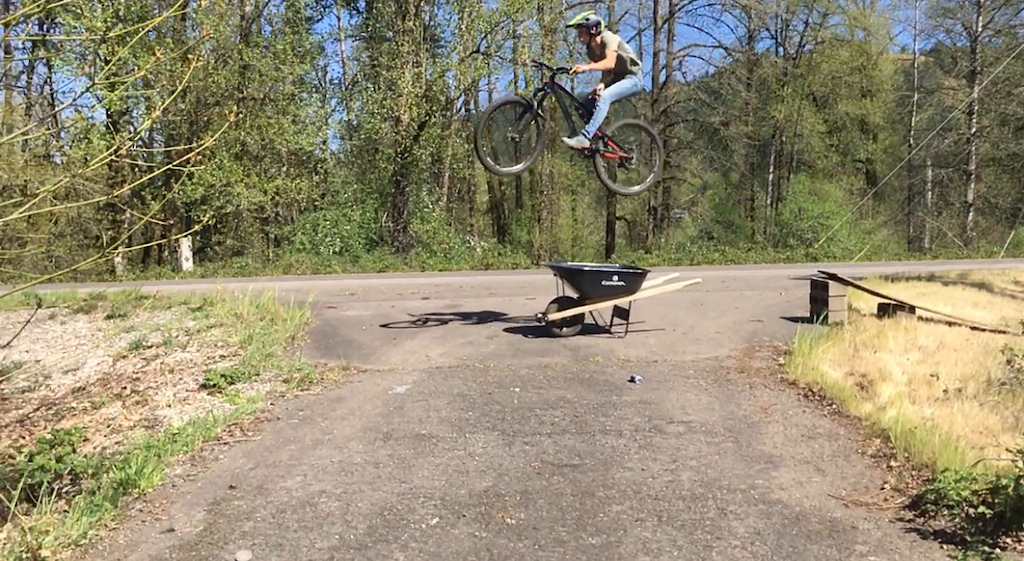My buddy and I made a sick road gap! This is it!
