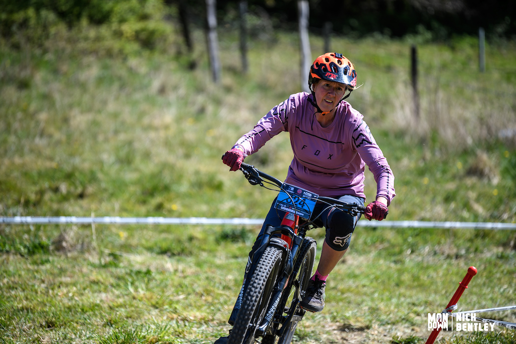8th place for Lucy Williams in the 40 women s field today