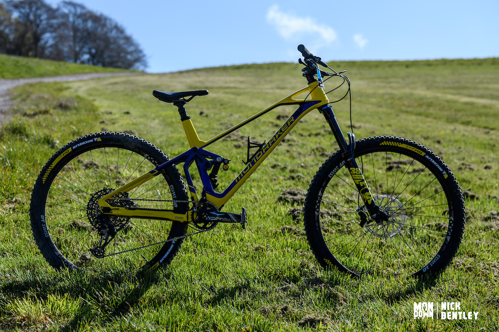 Luis Bolwell s Mondraker Superfoxy
