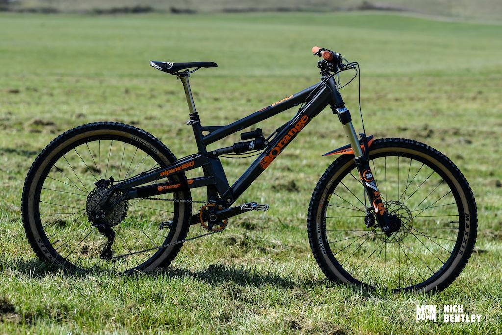 Oscar Sadler s Orange Alpine160