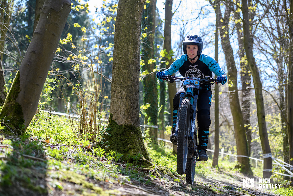 Alexia Desile had to settle for 2nd spot in the women s E-bike field still a fantastic result for the Moustache rider.