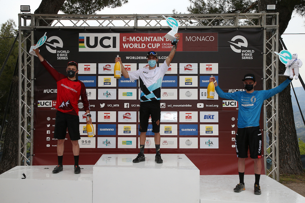 WES 2021 UCI E-MTB XC World Cup Round 01 Monaco 23-25 April 2021