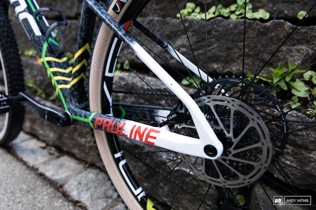 Pauline Ferrand Prevot Bike Check