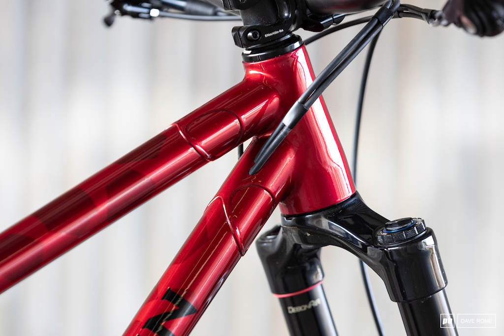 Devlin Cycles Prototype trail bike. Australian made steel.