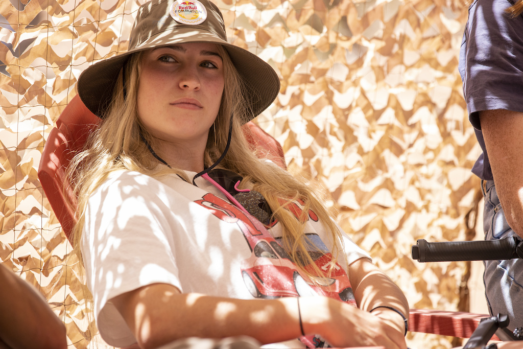 Jess Blewitt attends a kickoff meeting at Red Bull Formation in Virgin Utah USA on 24 May 2021.