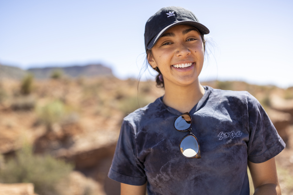 Sam Soriano poses for a portrait at Red Bull Formation in Virgin Utah USA on 24 May 2021.