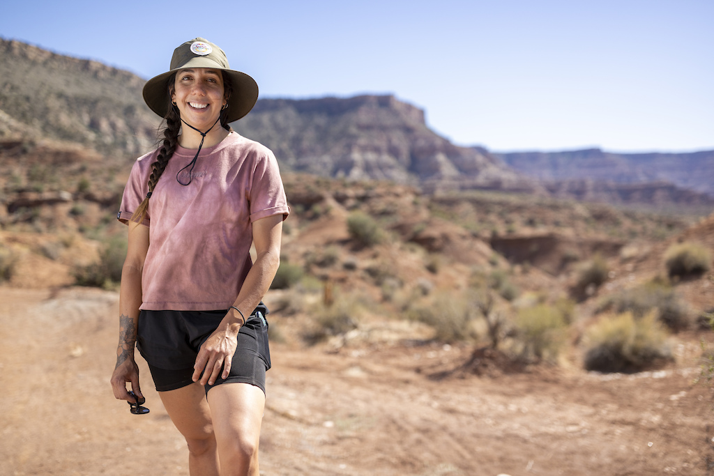 Camila Nogueira poses for a portrait at Red Bull Formation in Virgin Utah USA on 24 May 2021.