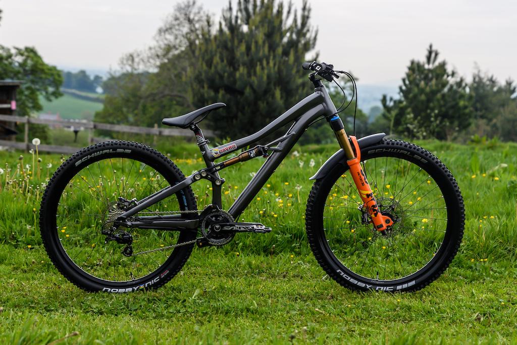 Dave Richardson's Specialised Enduro SX