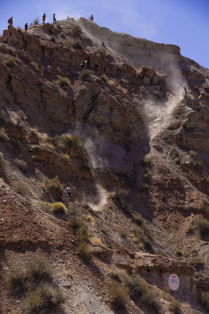 Hannah Bergemann sends the top of her line at Red Bull Formation in Virgin Utah USA on 30 May 2021.