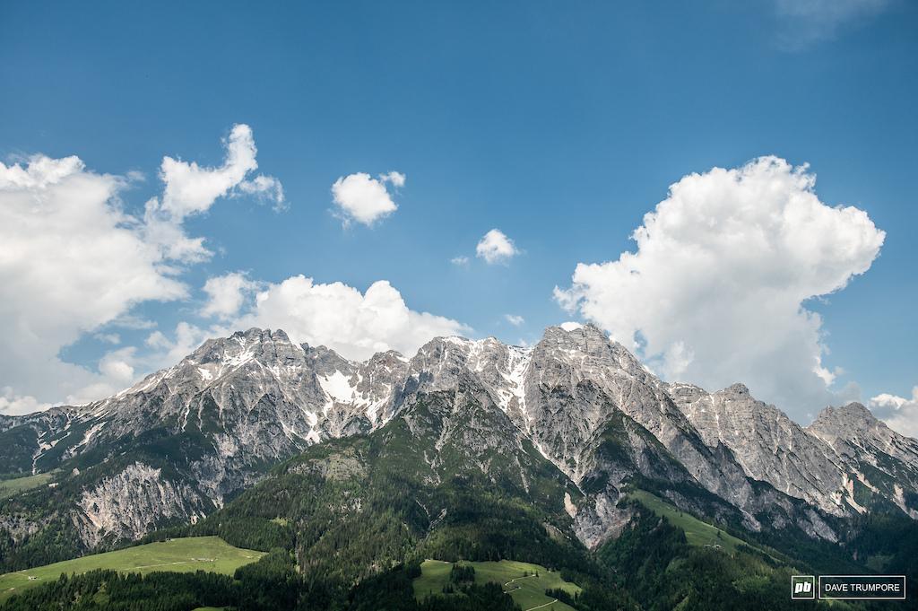 Back in beautiful Leogang Austria