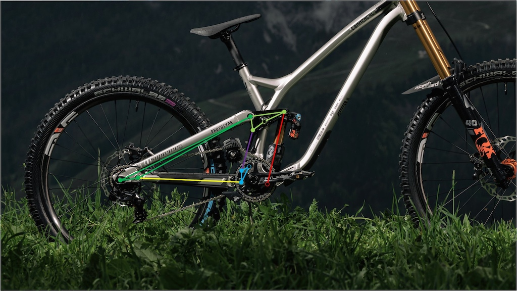 Commencal DH Race Bike Kinematic