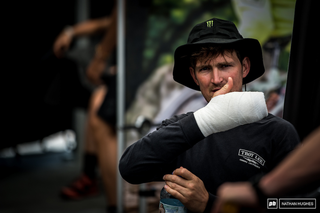 After getting a splinter in his hand at Schladming Brendan opted for a bit of home surgery and paid the price with a concerning infection that he hopes won t spoil the week ahead.