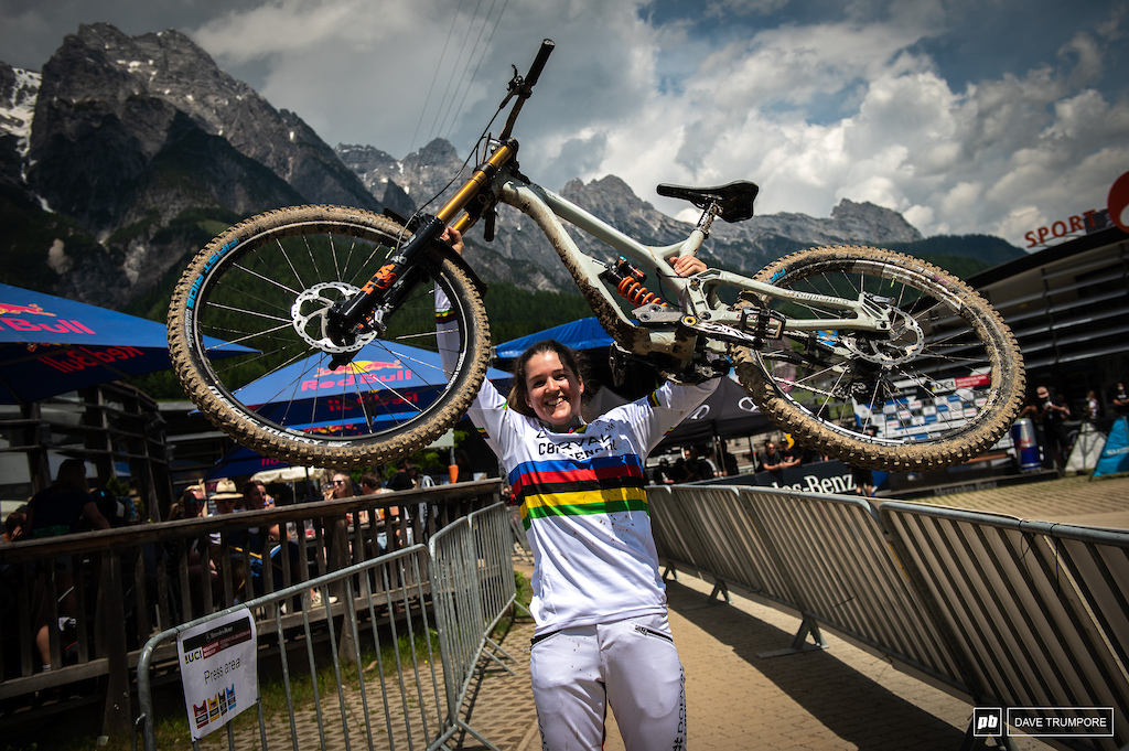 Two wins in a row at Leogang for Camille Balanche