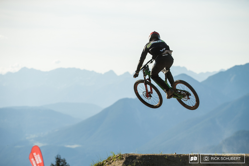 Erik Irmisch on the set up jump for Whip Off booter
