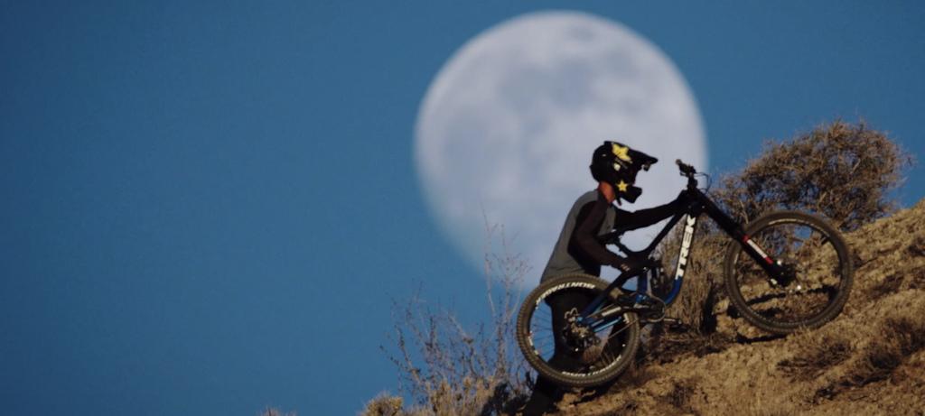 Full moon. Pants on.