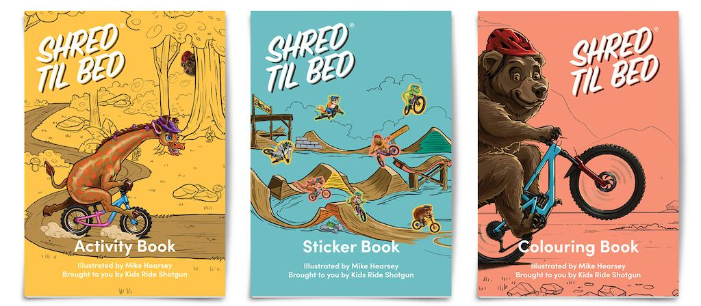 Shred Til Bed Activity Pack