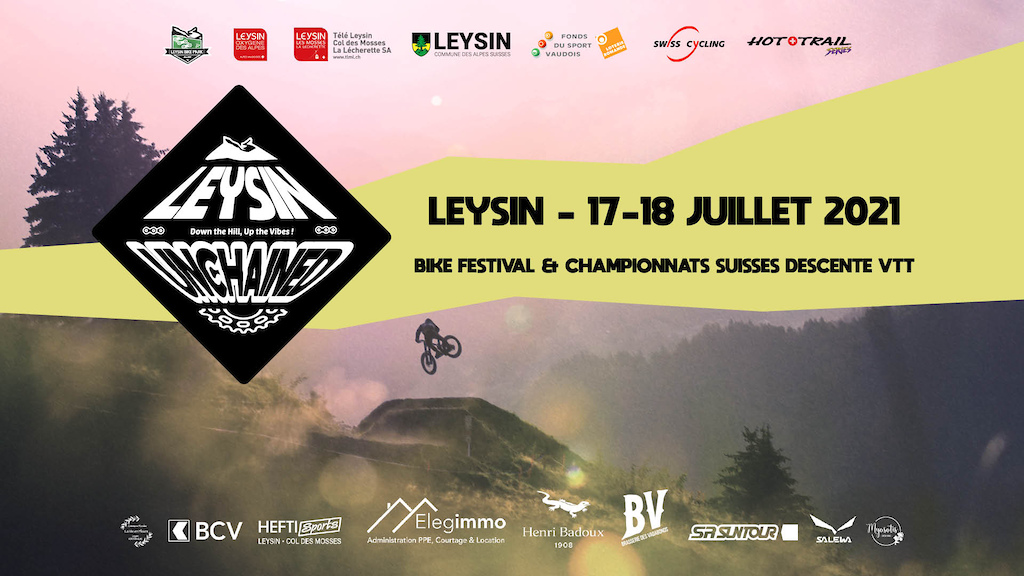 Leysin Unchained 2021 - Poster