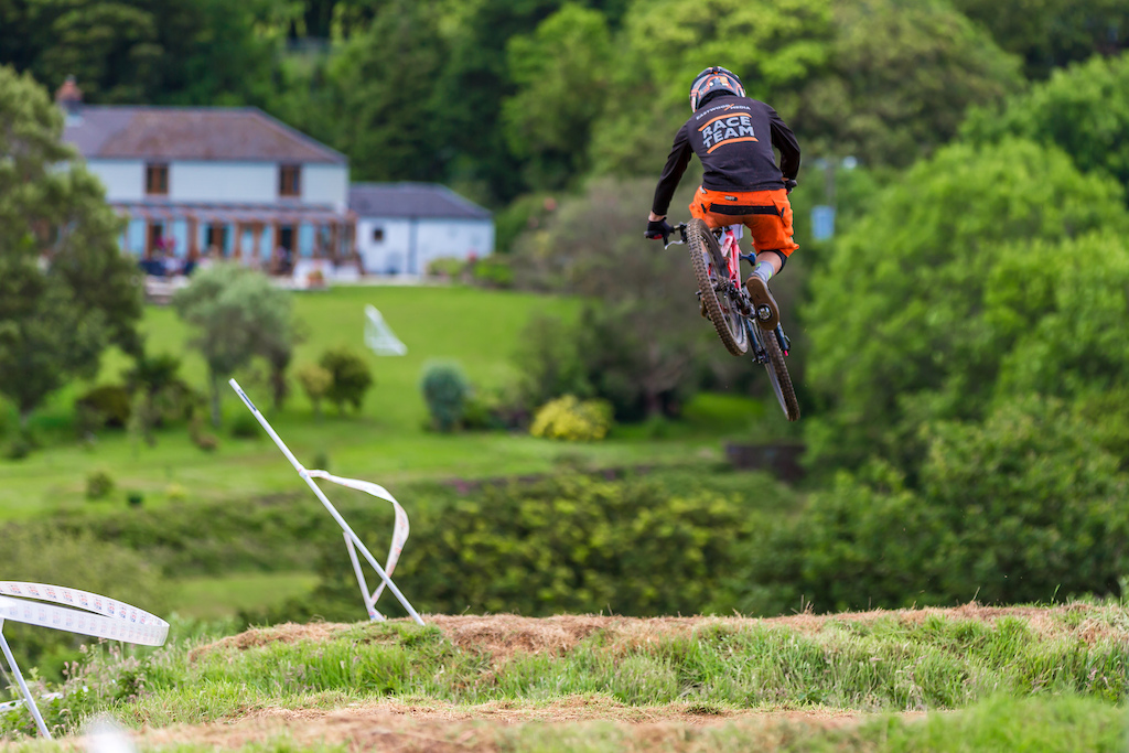 Ben jones sending it in to the stunning falmouth countryside
