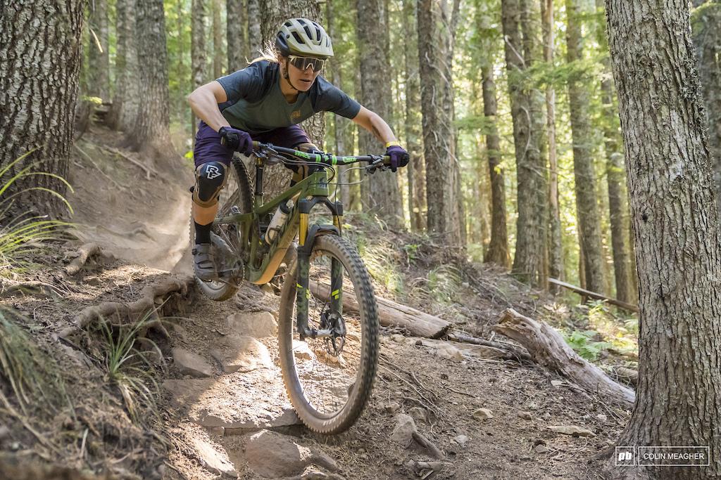 Nikki Rohan riding at Mt Hood Ski Bowl