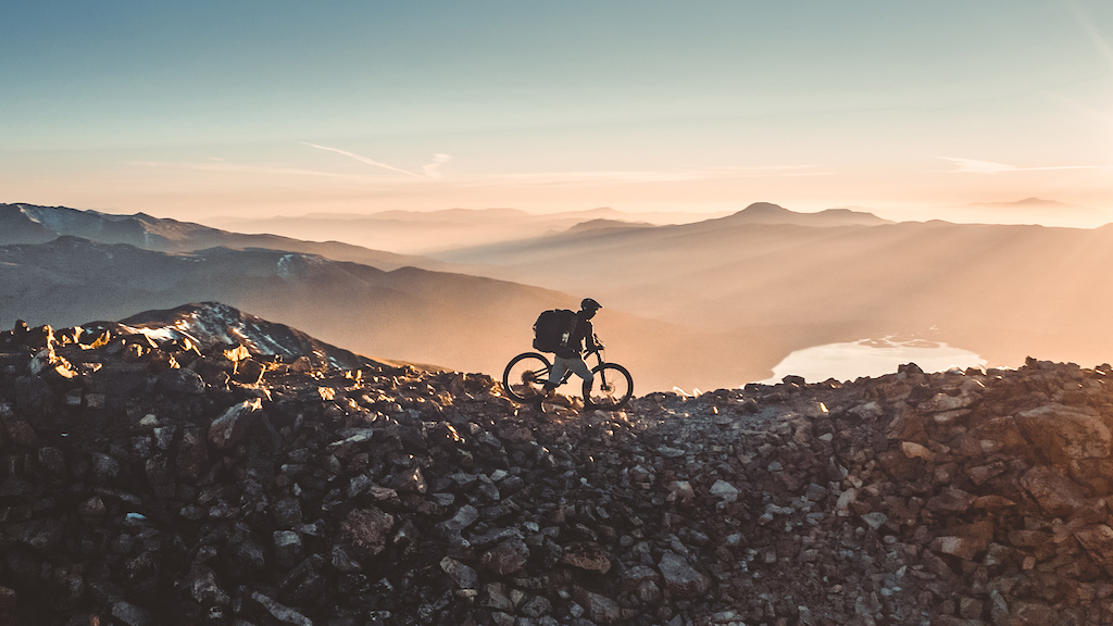 Darric Roark at the summit of Mount Elbert. Alone on top of the state at 7am on October 3rd 2020. 17 degrees Fahrenheit.