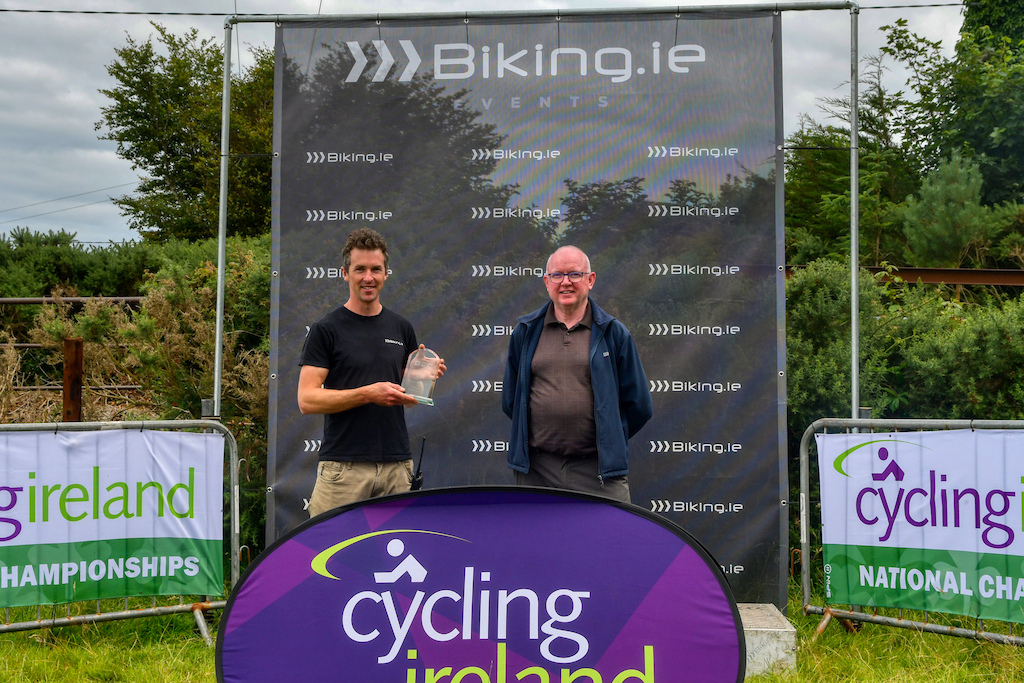 recognition to Biking.ie from Cycling Ireland for all the work done to promote mountain biking and cycling in general