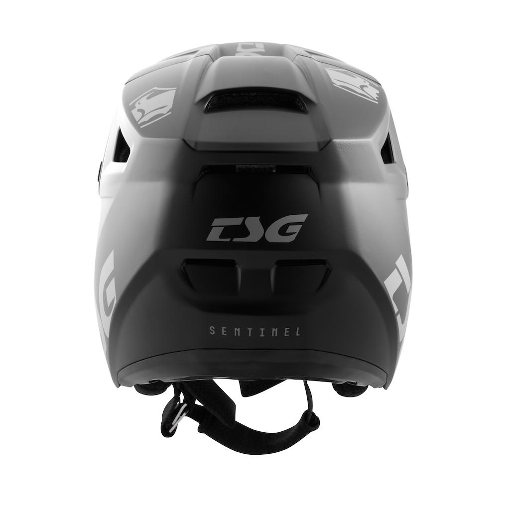 Sentinel Full-Face Helmet Satin Black