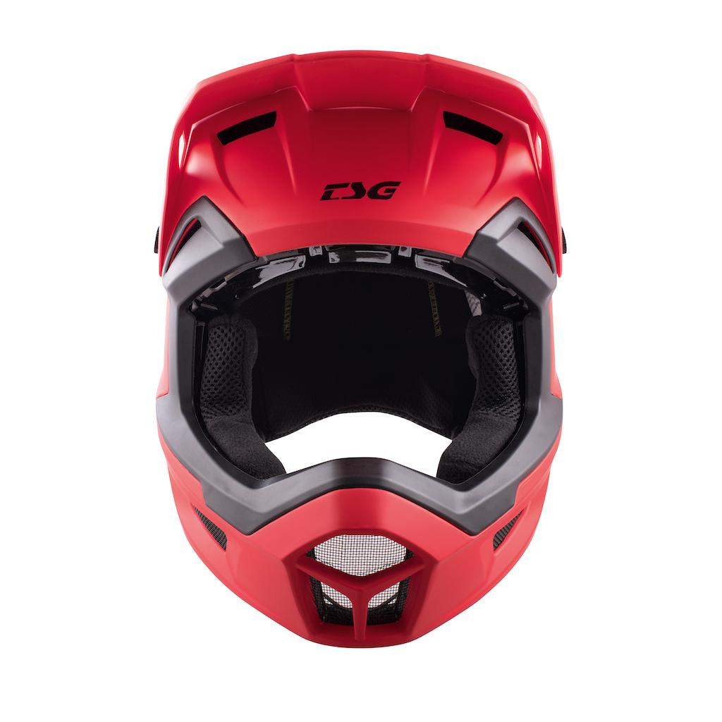 Sentinel Full-Face Helmet Satin Red