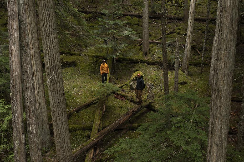 Scott Veach and Ben Haggar in Whistler BC