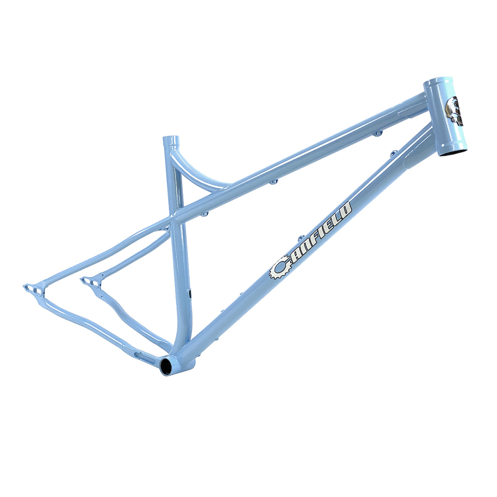 Canfield Nimble 9 Steel Hardtail MTB - Frost Powder Blue