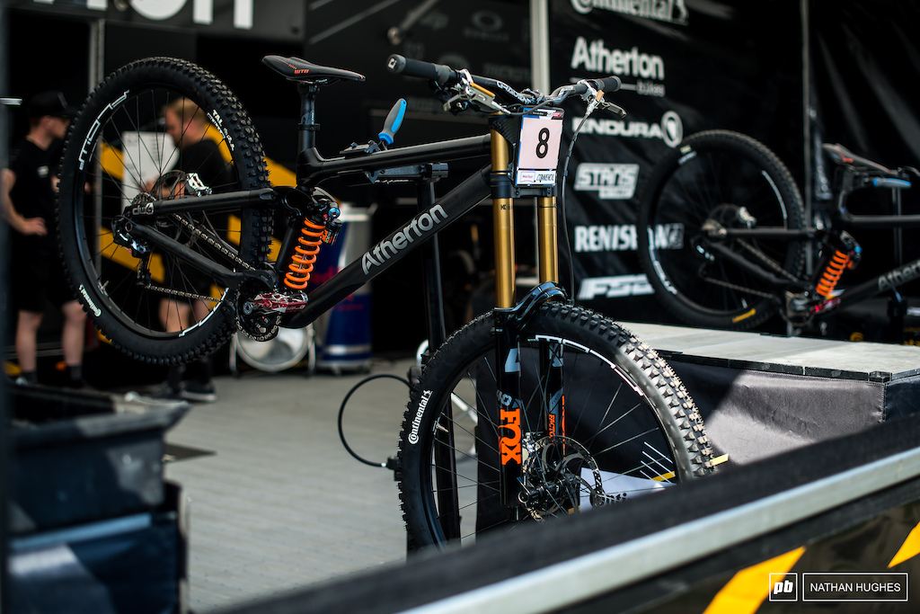 Millie Johnset and her Atherton machine will be ones to watch this weekend after a strong finish in Les Gets.