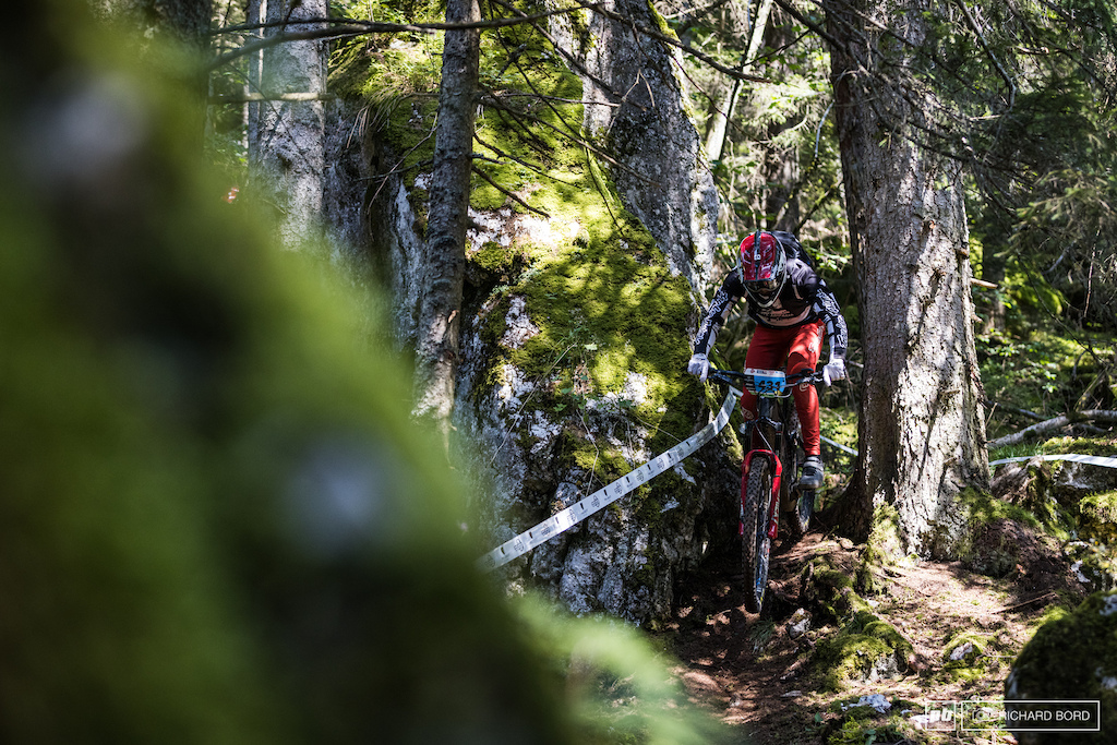 Matthieu Ruffray opened the E-Bike category on Saturday but didn t hold his position for Sunday as his team mate Yannick Pontal and Nico Vouilloz pushed too hard. Our beers waffle training from last week in Annecy didn t pay unfortunately