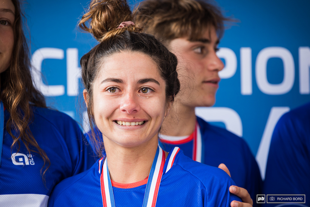 Some ups and downs this year for Isabeau means a lot of emotions. Bravo Isa