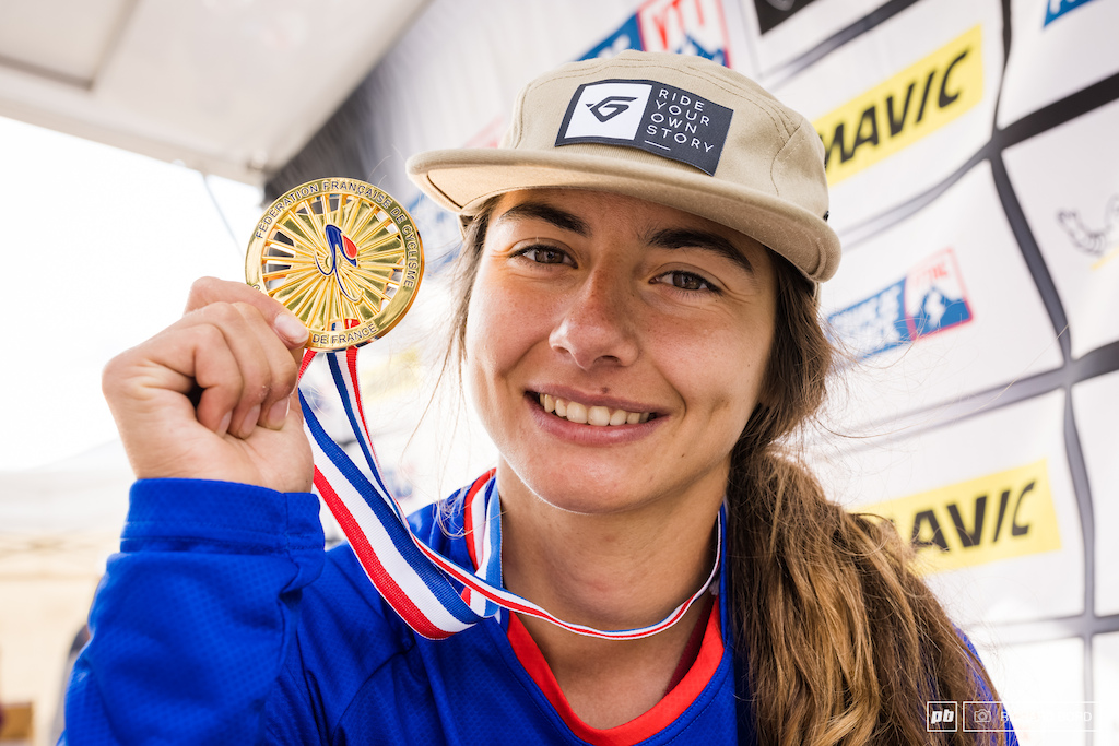 Isabeau Courdurier is the 2021 French Enduro Champion What a year for this lady