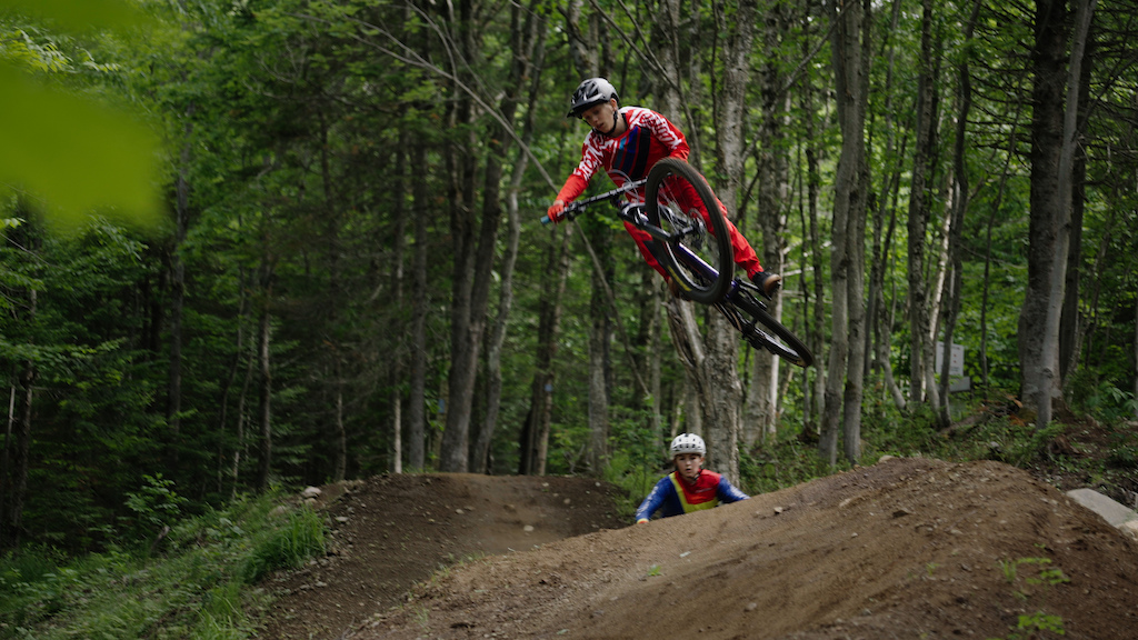 Th o B dard 11 years old from Cap Rouge Quebec City. Bmx racer for the last 6 years mtb rider for the last 2 years.