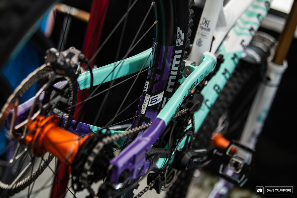 No detail spared on Myriam Nicole s bike
