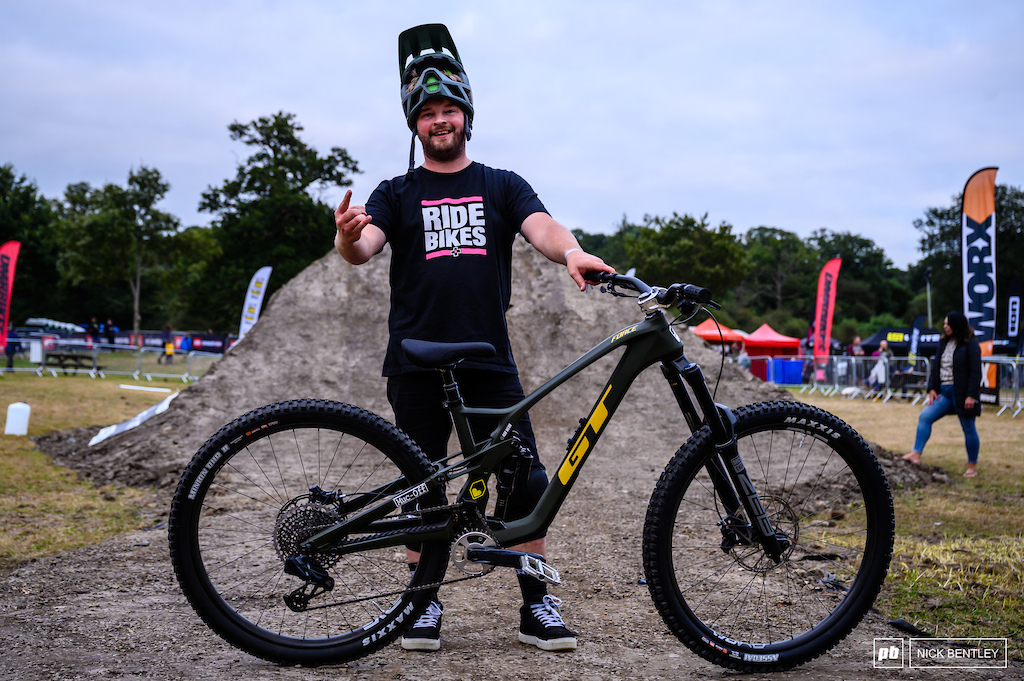 Rob Webb and his GT Force