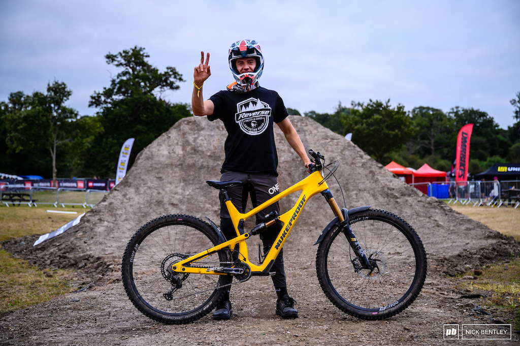 Laurie Tennant and his Nukeproof Mega