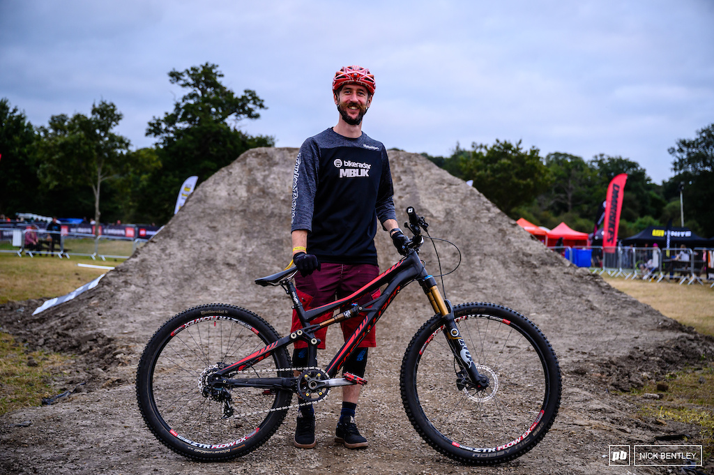 Will Soffe and his Specialised Enduro SX