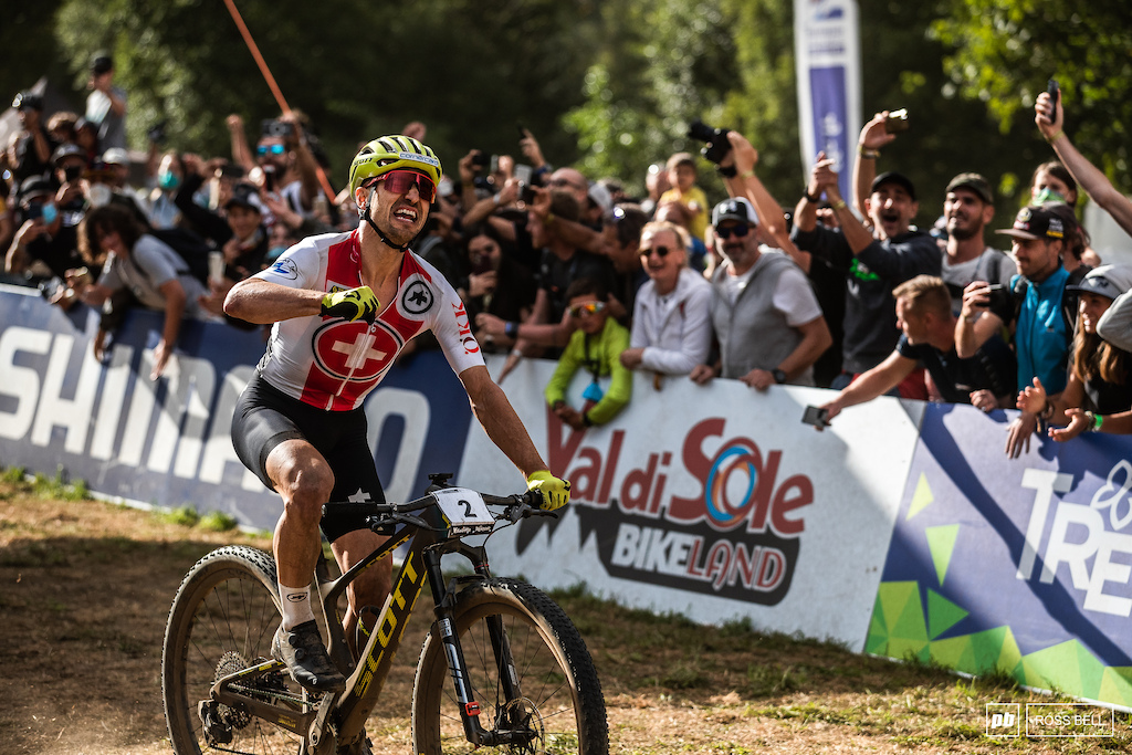 This one might feel even sweeter than the others given Nino Schurter is winless in the World Cups this year.