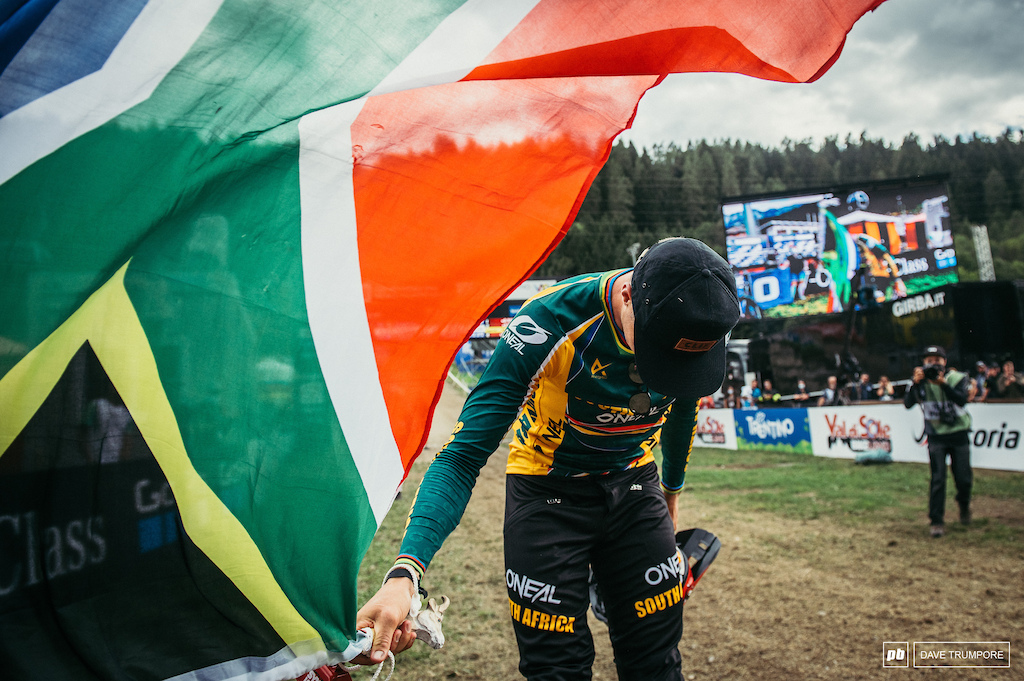 Take a bow Greg Minnaar you put on quite the show today