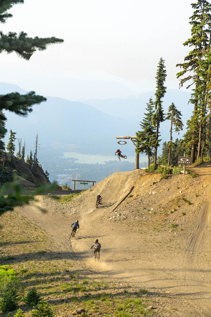 The Oakley Step Up in Whistler Mountain Bike Park