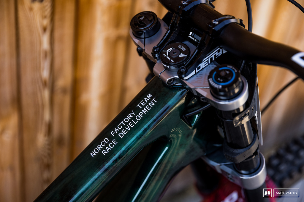 Sam Blenkinsop s Norco DH Bike