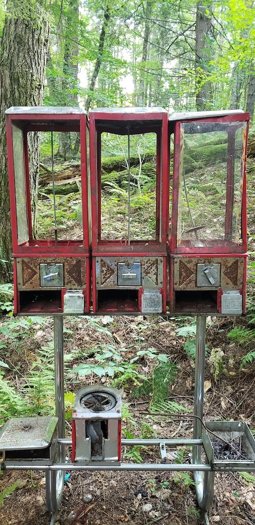 Trail's namesake in need of some repair! September '21