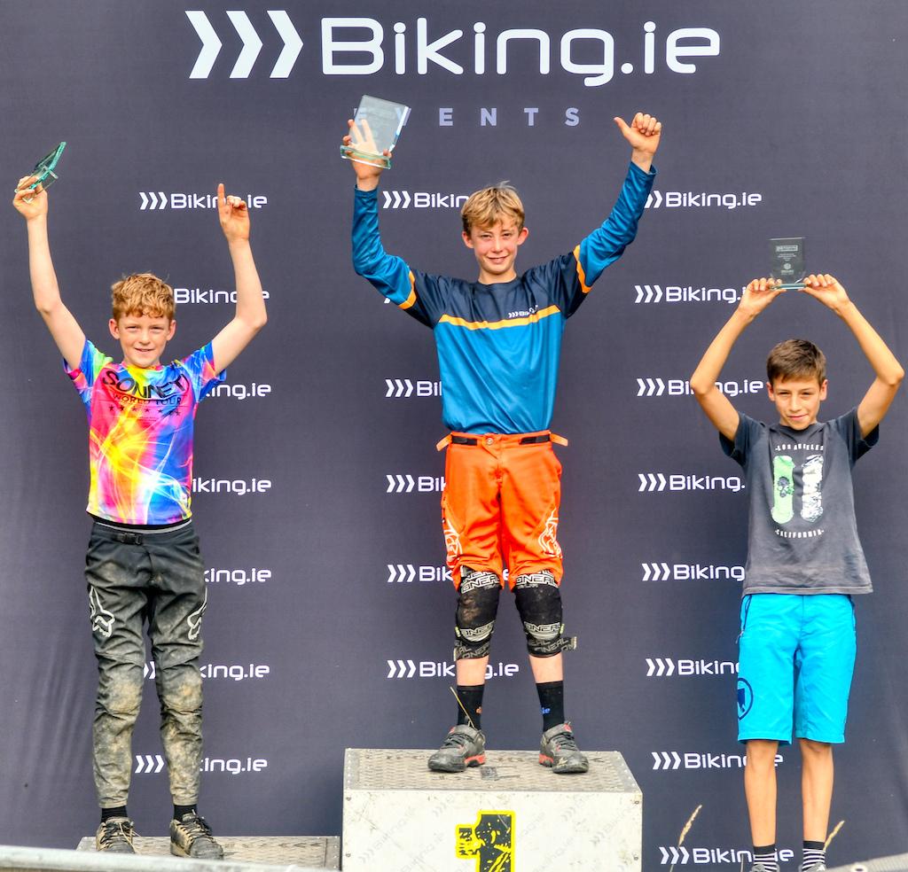 Youth 12-13 men podium