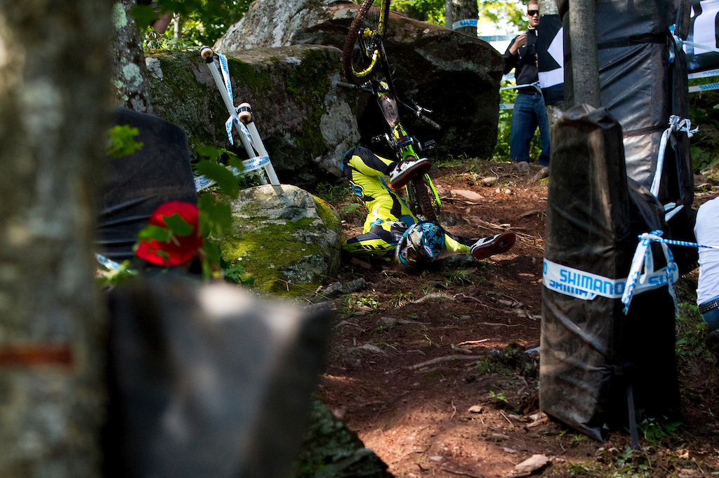 during the UCI world cup finals at Windham NY.