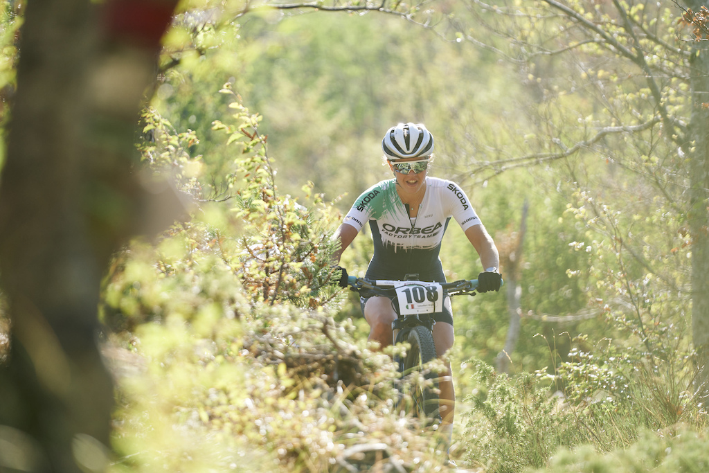 during Stage 1 of the 2021 Appenninica MTB from Porretta to Porretta Emilia Romagna Italy on 12 September 2021. Photo by Juan J. Pesta a. PLEASE ENSURE THE APPROPRIATE CREDIT IS GIVEN TO THE PHOTOGRAPHER.