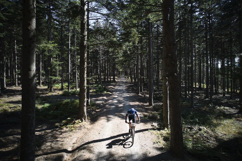 during Stage 2 of the 2021 Appenninica MTB from Porretta to Porretta Emilia Romagna Italy on 12 September 2021. Photo by Michael Chiaretta. PLEASE ENSURE THE APPROPRIATE CREDIT IS GIVEN TO THE PHOTOGRAPHER.
