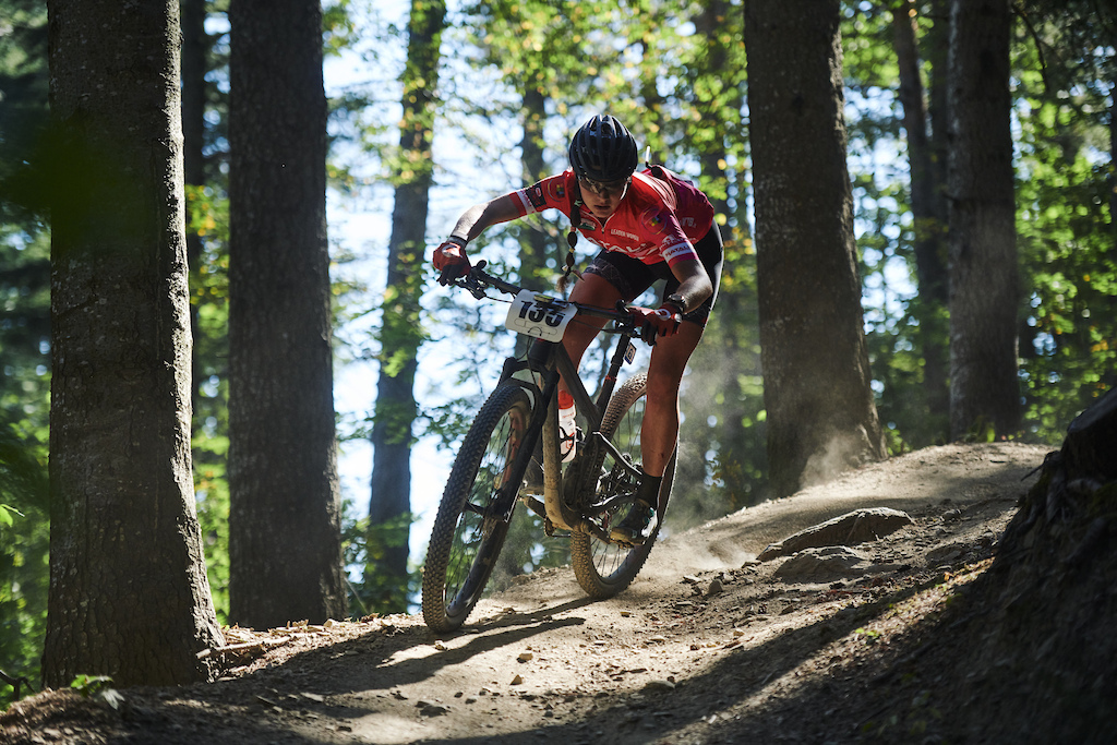 during Stage 3 of the 2021 Appenninica MTB from Lizzano to Fanano Emilia Romagna Italy on 14 September 2021. Photo by Marius Holler. PLEASE ENSURE THE APPROPRIATE CREDIT IS GIVEN TO THE PHOTOGRAPHER.