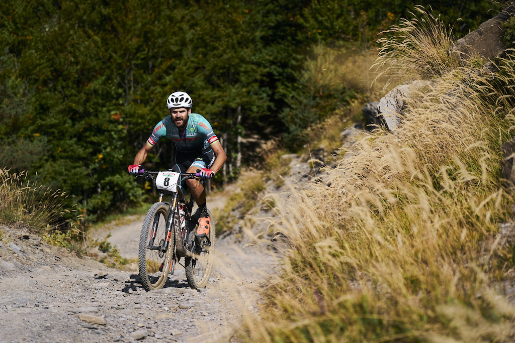 during Stage 3 of the 2021 Appenninica MTB from Lizzano to Fanano Emilia Romagna Italy on 14 September 2021. Photo by Michael Chiaretta. PLEASE ENSURE THE APPROPRIATE CREDIT IS GIVEN TO THE PHOTOGRAPHER.